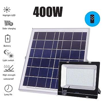 Solar Proyectores Led Exterior, Super Brillante Impermeable ...