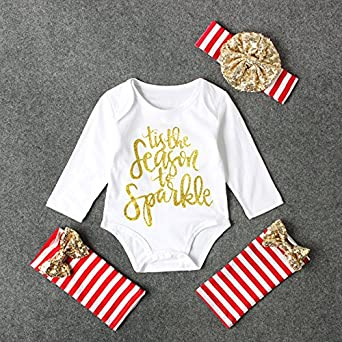 fun stuff my first christmas baby girl outfit 18m - Girl Stuff For Christmas