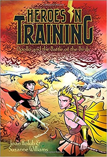 6befb19e2 Apollo and the Battle of the Birds (Heroes in Training): Joan Holub,  Suzanne Williams, Craig Phillips: 9781442488458: Amazon.com: Books