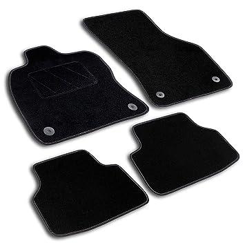 Premium Fußmatten Set für VW Caddy Life ab 2015 Matten Autoteppiche Set Velours