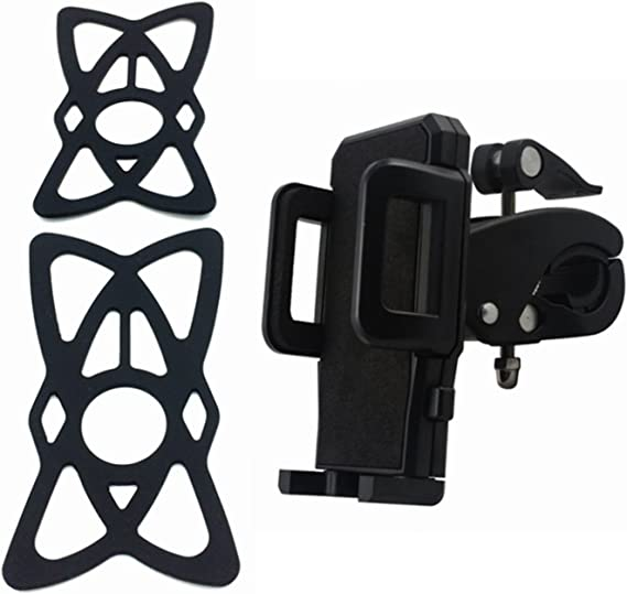 Bicycle Motorcycle Handlebar Phone Holder Support Smartphone Adjustable Bracket