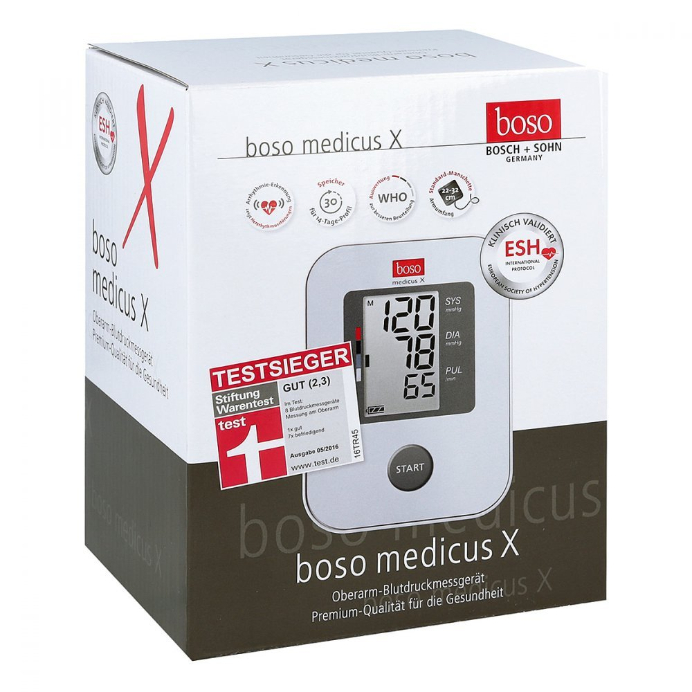 Boso Medicus X vollautomat.Tensiómetro 1 St: Amazon.es: Salud y cuidado personal