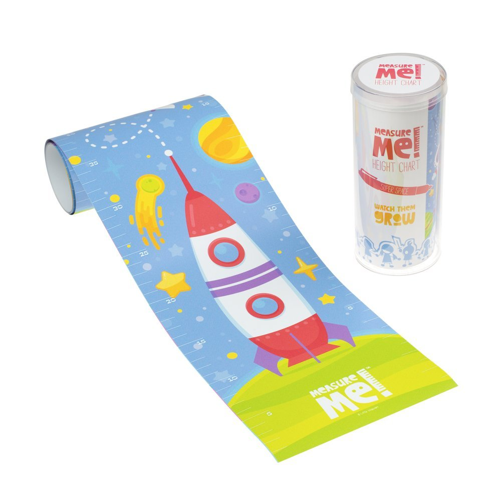 Measure Me! Roll-up Height Chart for Children - Super Space Little Wigwam