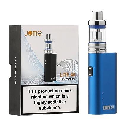 Cigarrillo Electrónico,JOMO TECH Lite 40W Modelo clásico en 2200mAh 0.5 Ohm Resistencia E-Cigarrillo Adecuado para principiantes,Sin Nicotina y Sin ...