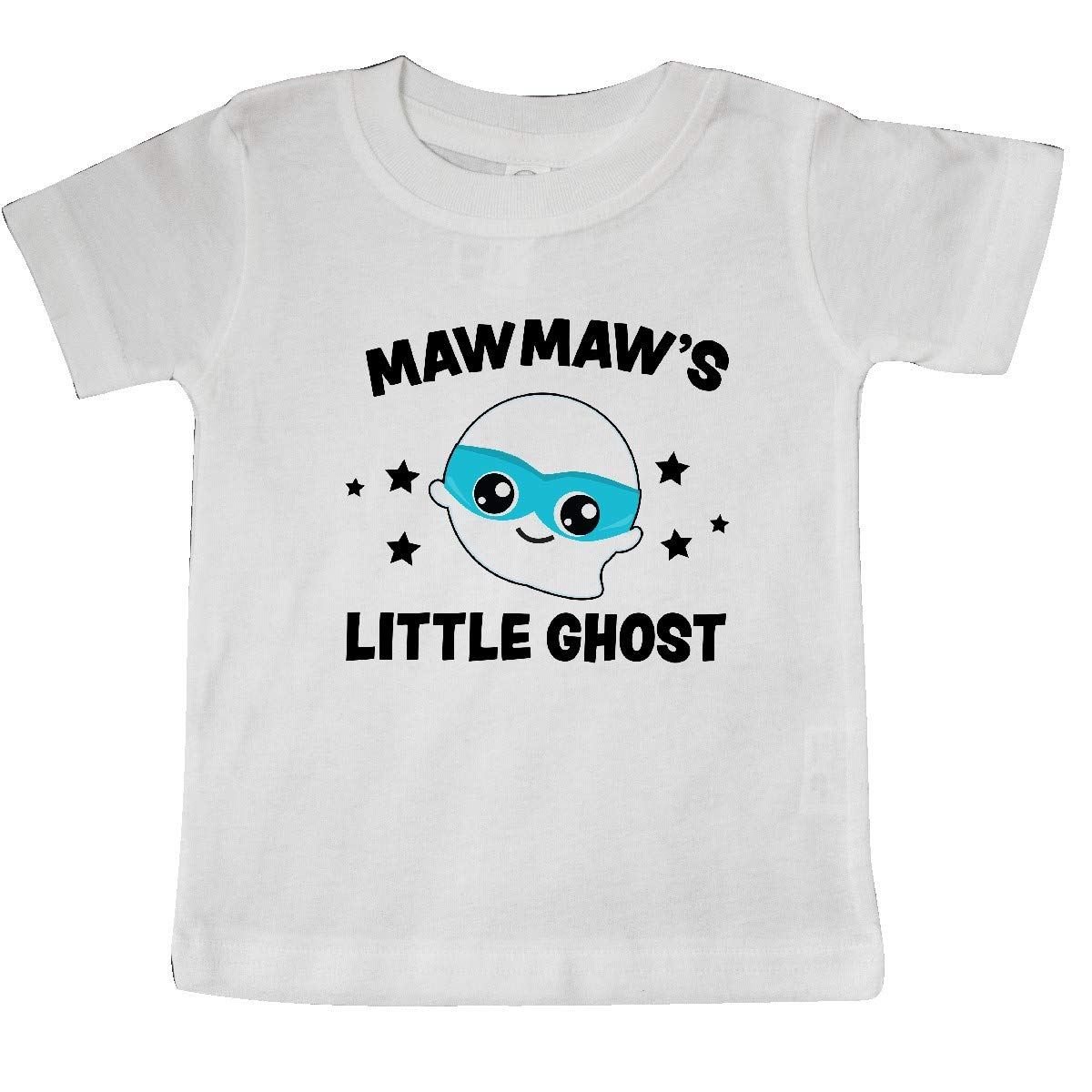 inktastic Cute Mawmaws Little Ghost with Stars Baby T-Shirt