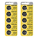 Health and Beauty - Toshiba CR2032 3 Volt Lithium Coin Battery (10 pcs)