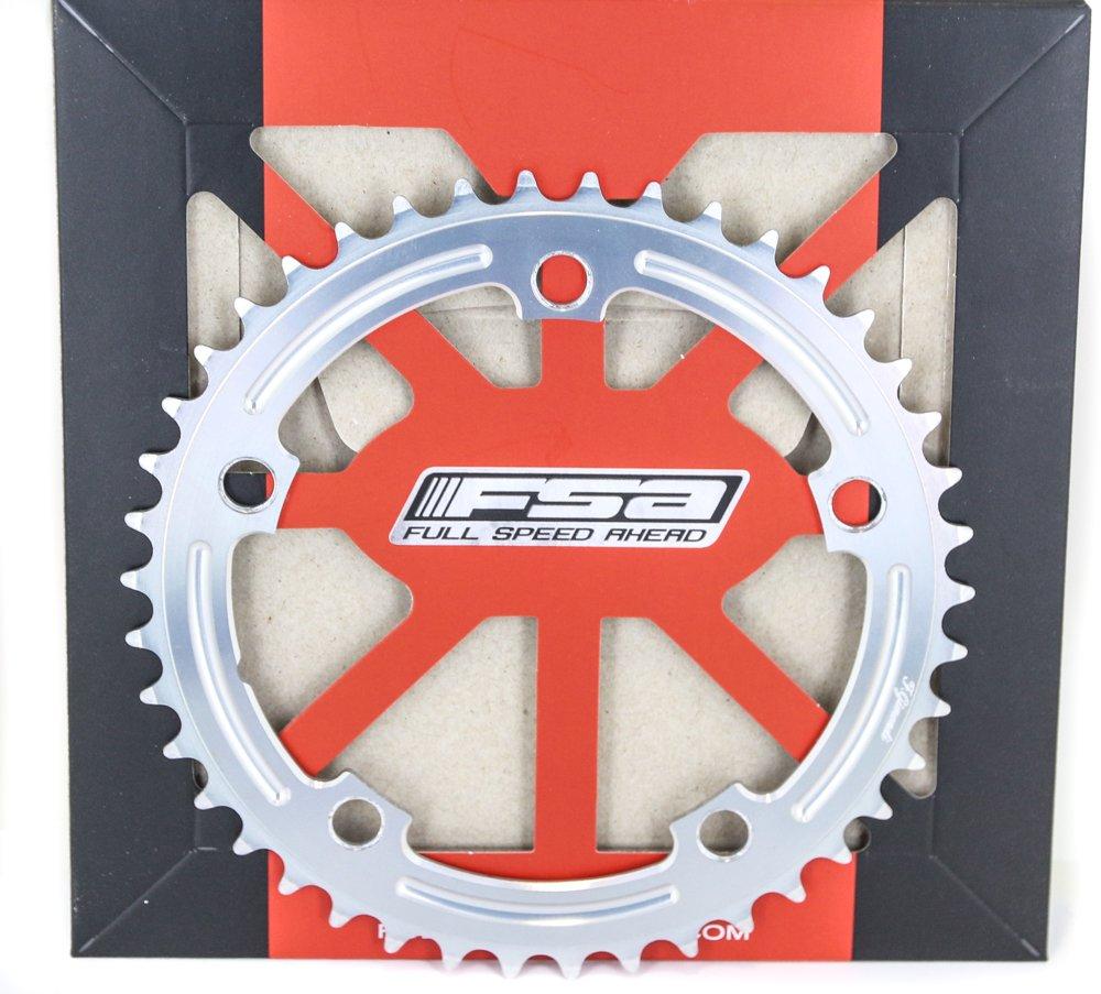 FSA GimondiトラックSingle Speed合金Chainring 130 BCD x 42t 5ボルト3 / 32