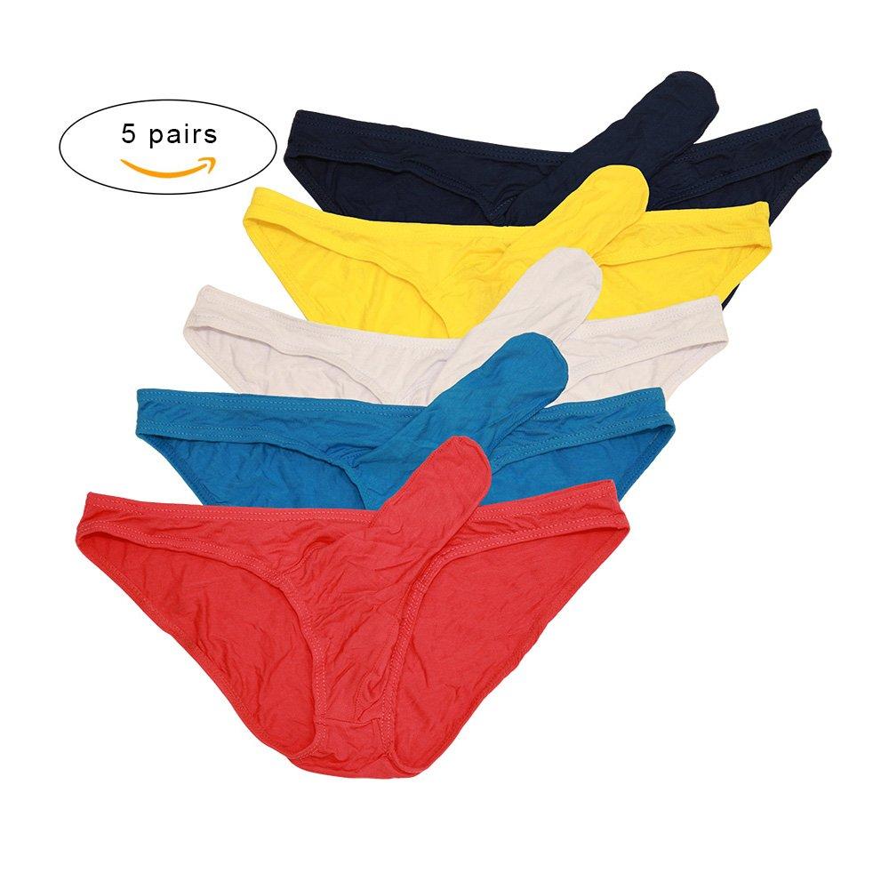 b817948ab Galleon - Men s Sexy Underwear Boxer Briefs With Sheath