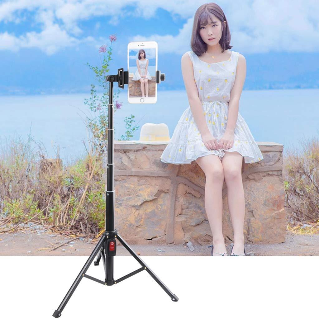 Multi-Function Mobile Phone Tripod Bluetooth Selfie Stick Live Broadcast Bracket Aluminum Alloy Desktop Mini Tripod