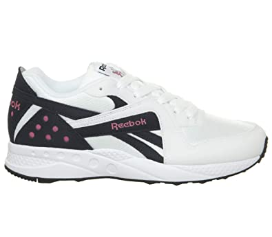 2bd37ad93f6 Reebok Pyro White Night Navy Pink Fusion Black - 3 UK
