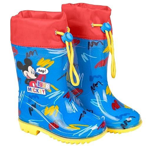 envío gratis 3ce1a 35537 Botas Agua Mickey Mouse - Botas Lluvia Disney para niños