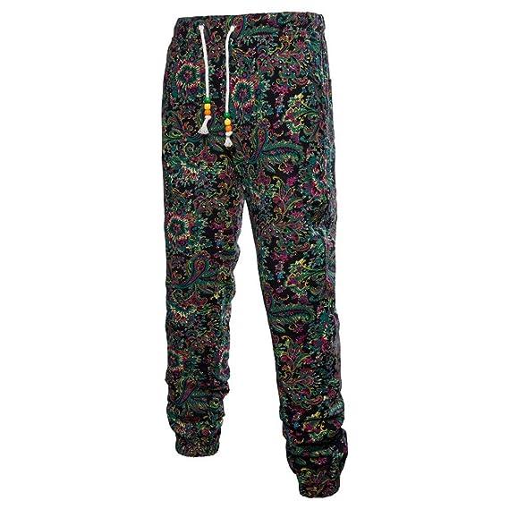 JiaMeng Pantalones Casuales para Hombres Pantalones Militares Pantalones de Trabajo Harem Pantalones de chándal Pantalones Casual