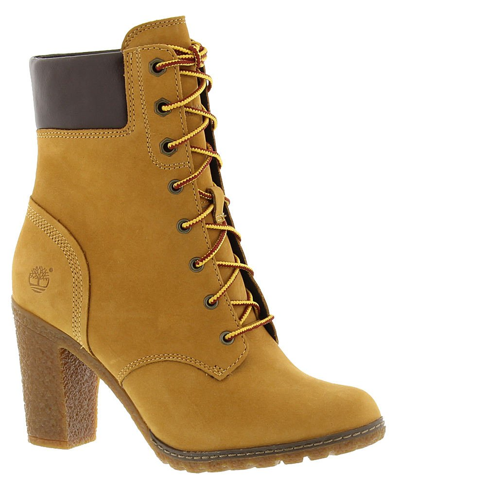 Timberland Glancy 6 Inch Boot - Women's Wheat Nubuck 8 Wide by Timberland