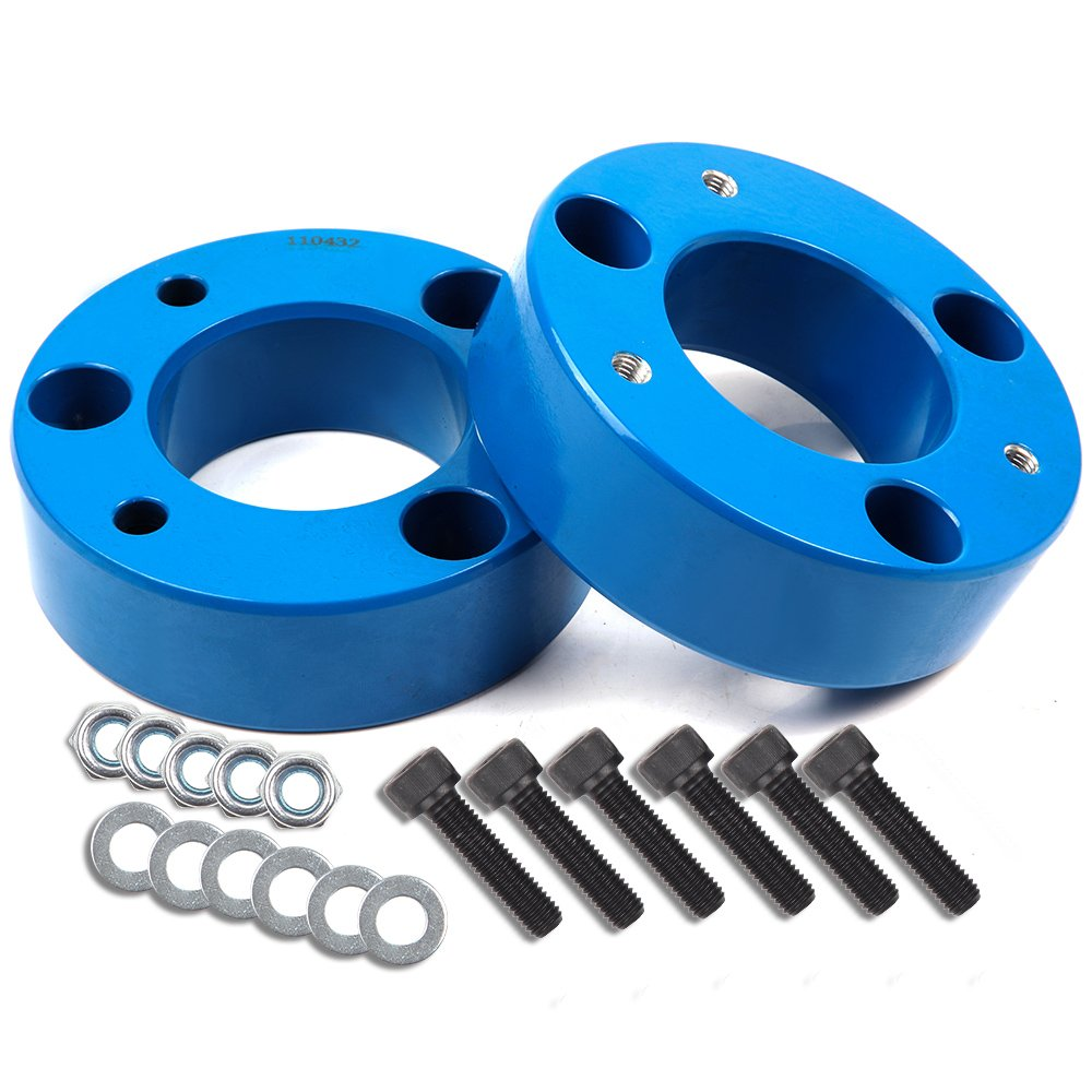 ECCPP 2.5 inch Leveling Lift Kit,Raise your vehicle 2.5'' Front Leveling Lift Kit for 2004 2005 2006 2007 2008 2009 2010 2011 2012 2013 2014 2015 2016 2017 2018Ford F150 2WD 4WD