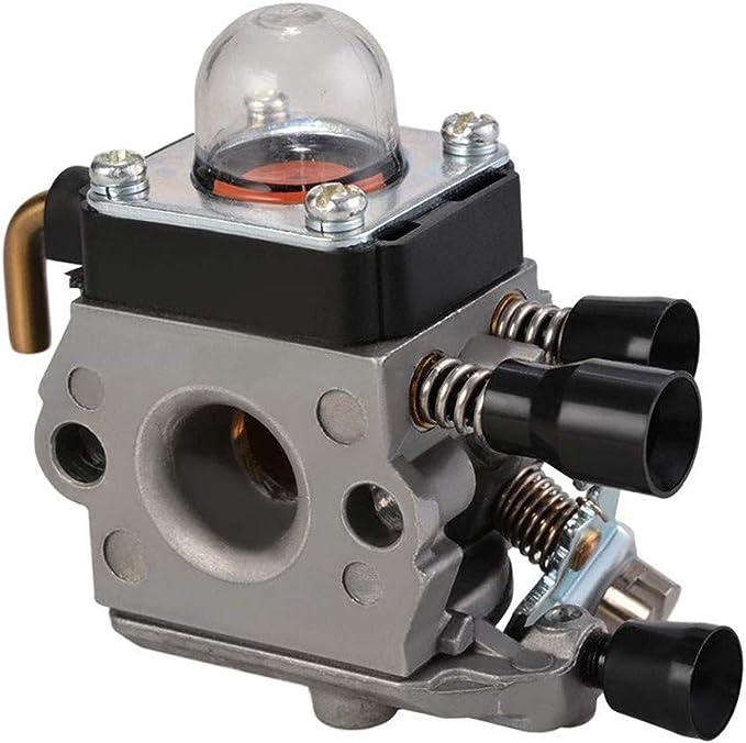 Powerful Tools Carburador compatible con cortacésped Stihl FS38 FS45 FS46 FS55 Fs74 FS75 FS76 FS80 FS85