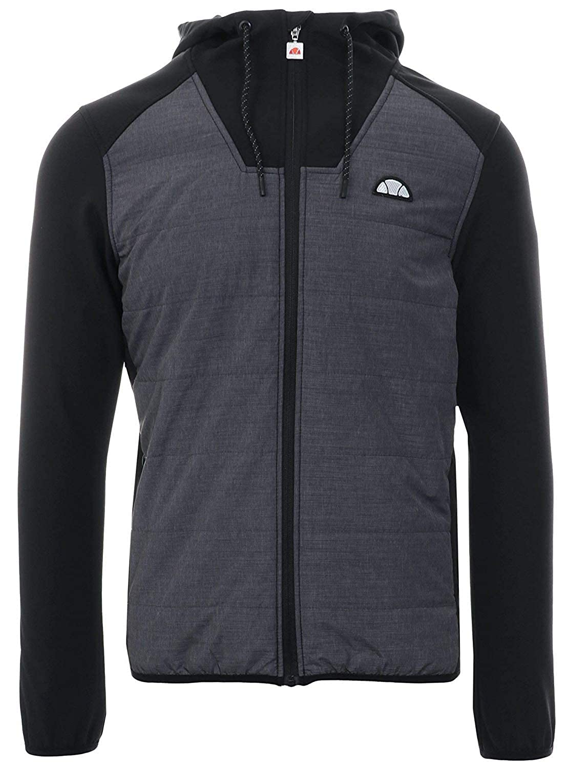 a795367234 ellesse Mens Grey Staggio Hooded Top: Amazon.co.uk: Clothing