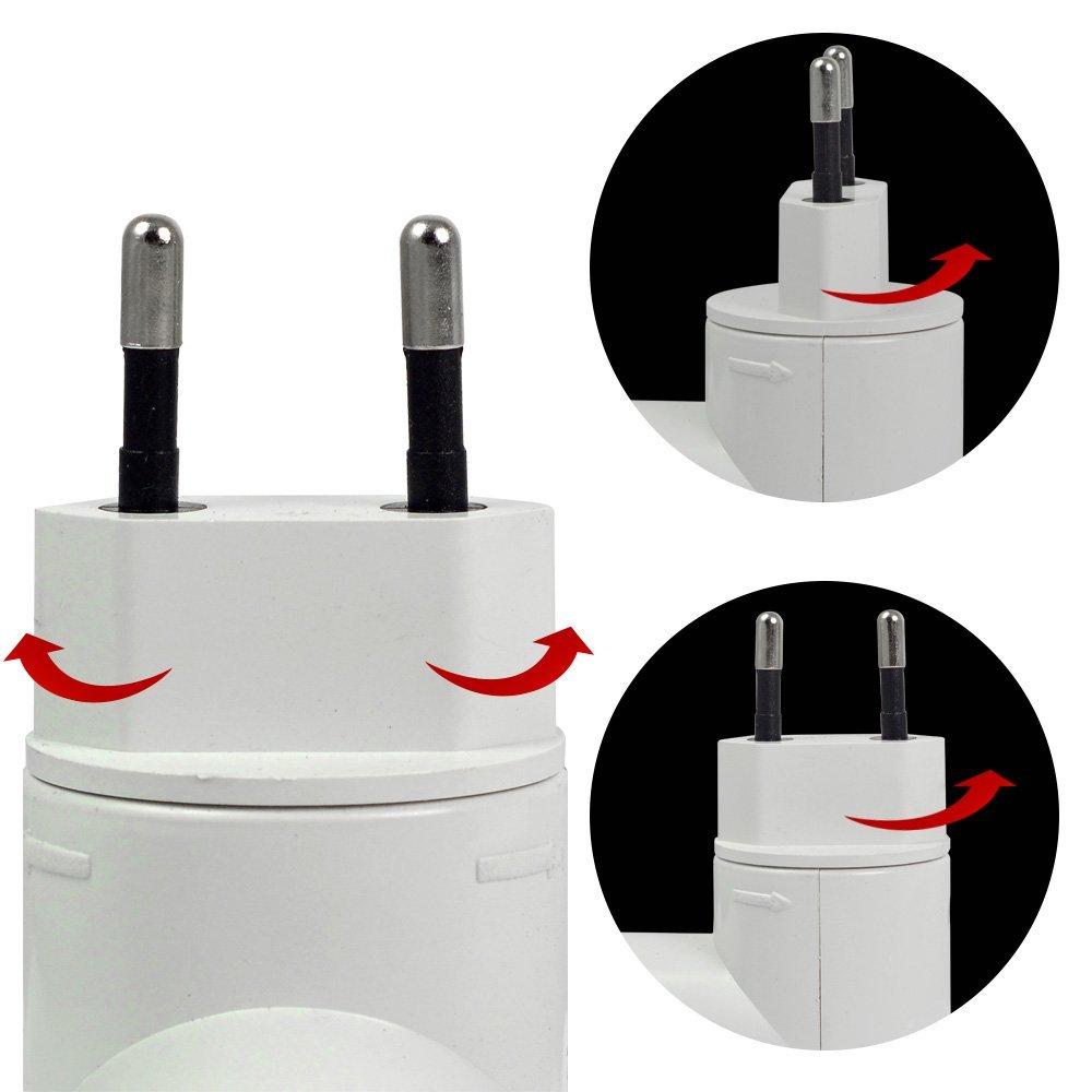 MENGS® Pack de 4 PP de calidad en E27 adaptador convertidor de enchufe de la lámpara con el material de la resistencia ABS de alta temperatura: Amazon.es: ...