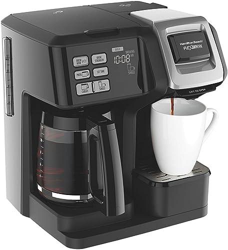 Hamilton Beach FlexBrew 2-Way Brewer Programmable Coffee Maker 49976