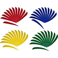 48 Pieces 5 Inch Archery Arrow Turkey Feathers Fletching Fletches, Lightweight and High Durability