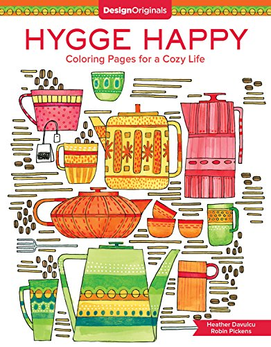 Hygge Happy Coloring Book: Coloring Pages for a Cozy Life