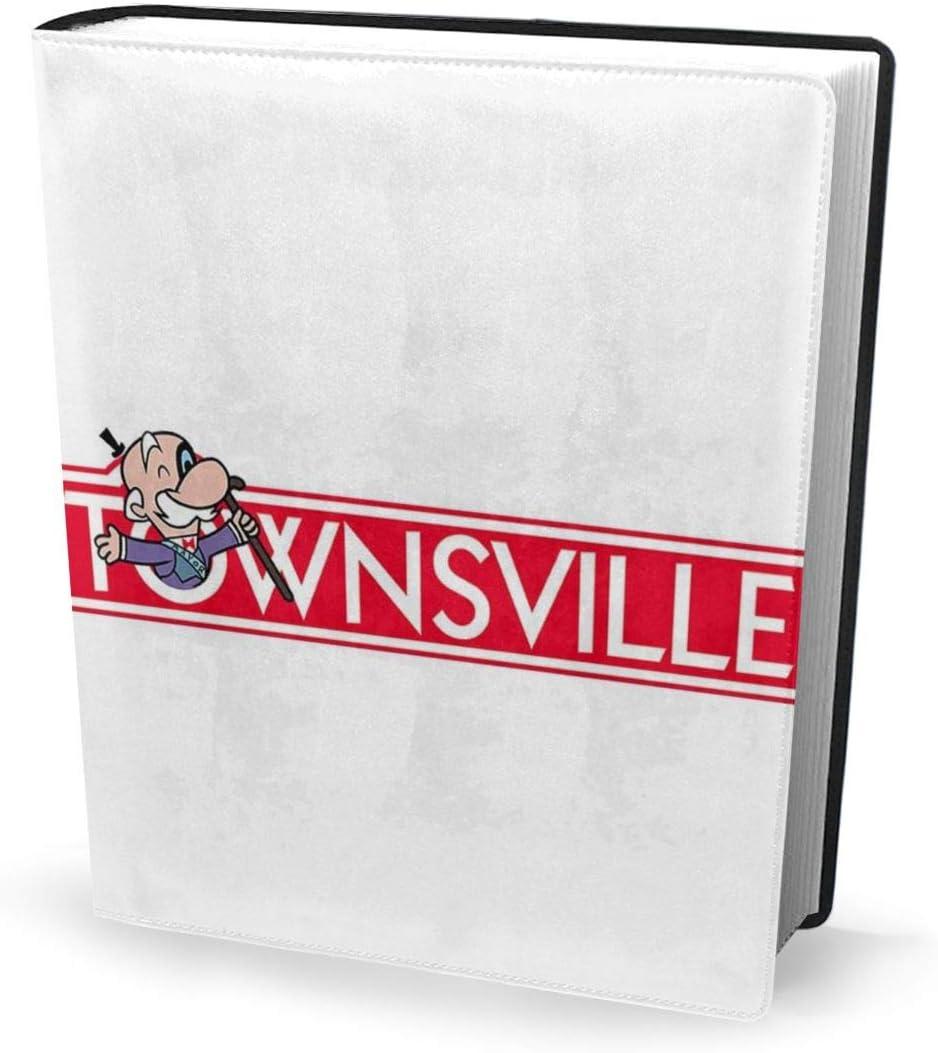 Funda para libro de 9 x 11 pulgadas Powerpuff Girls Townsville Monopoly – Perfectamente estirable, lavable, práctico, reutilizable, antiderrapante para estudiantes: Amazon.es: Oficina y papelería