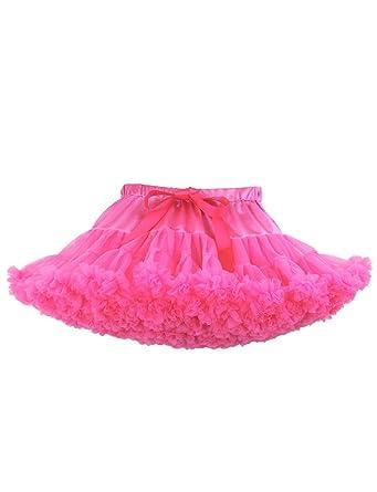 DYSS Enagua de Las Mujeres Falda de tutú Suave Ballet Dance Mini ...
