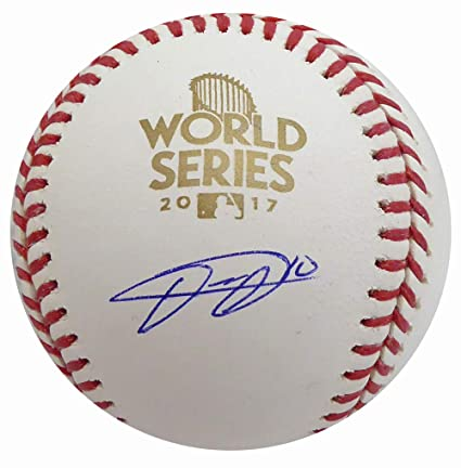 8ed8fe6a3 Image Unavailable. Image not available for. Color: Yulieski Yuli Gurriel  Autographed Official 2017 World Series MLB ...