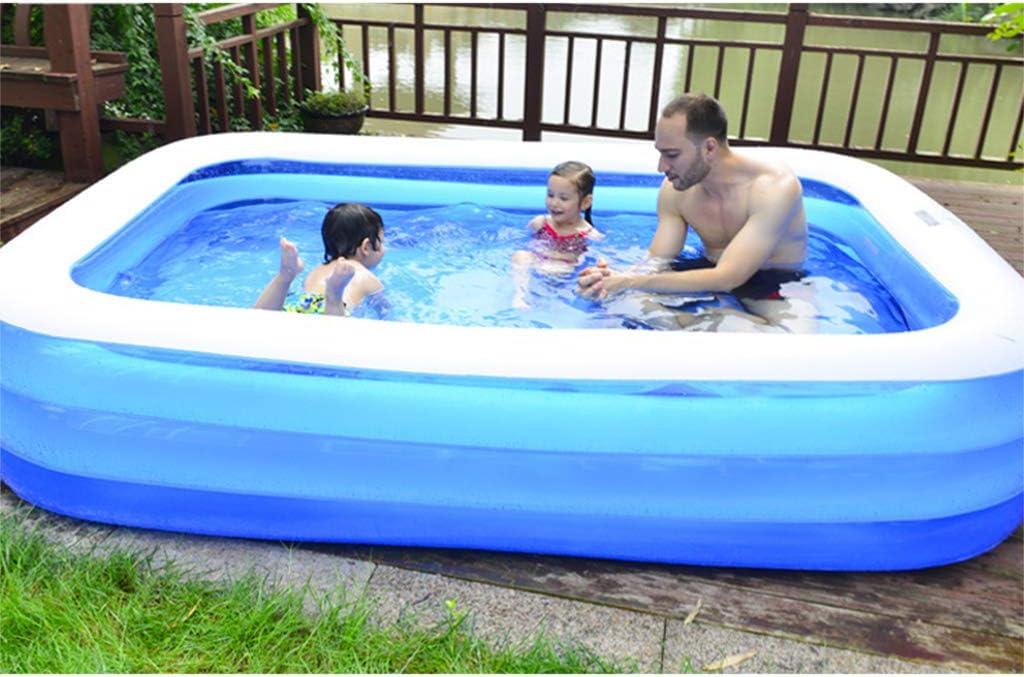 Dedepeng - Piscina hinchable para el hogar, resistente al agua ...