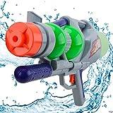 Super Soaker Water Gun Pistol - Wishtime Kids Super Power Squirt Gun for Boys Girls Summer Outdoor 3+Years Toys (Red-Blue) …
