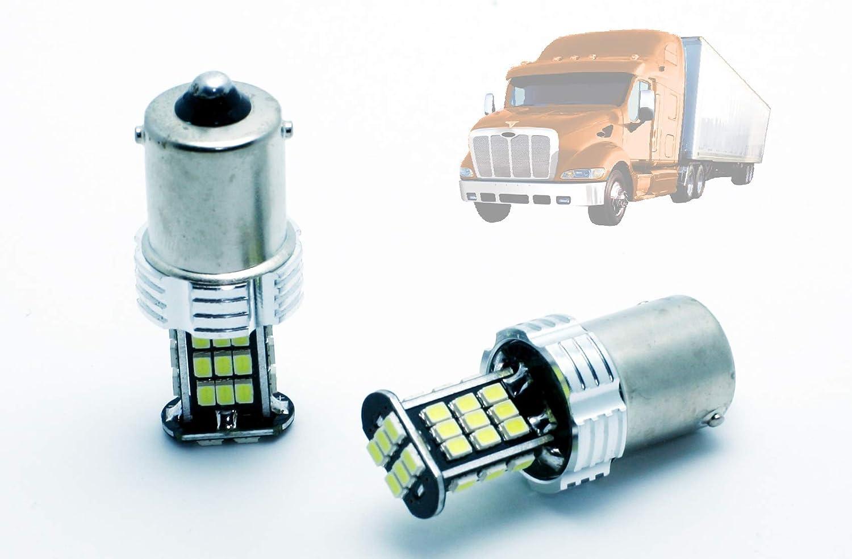 G-V LEDPremium 2X Bombillas LED CAMION 24V Interior P21W 24V 6000K 800 LUMENES INCREIBLES! Trucks