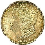 1921 Morgan Dollar $1 MS64 NGC