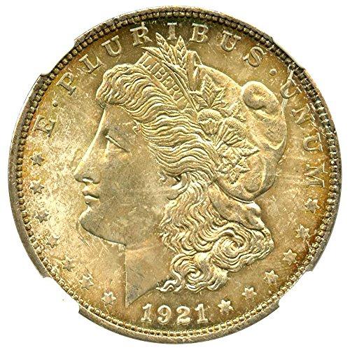 1921 Morgan Dollar $1 MS64 NGC ()