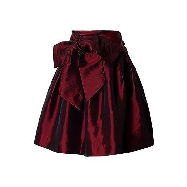 167ec3354914 BURJKFD Burgundy Skirt Short Faldas Jupe Femme Cheap Skirts for Woman Girls  Skirt at Amazon Women's Clothing store: