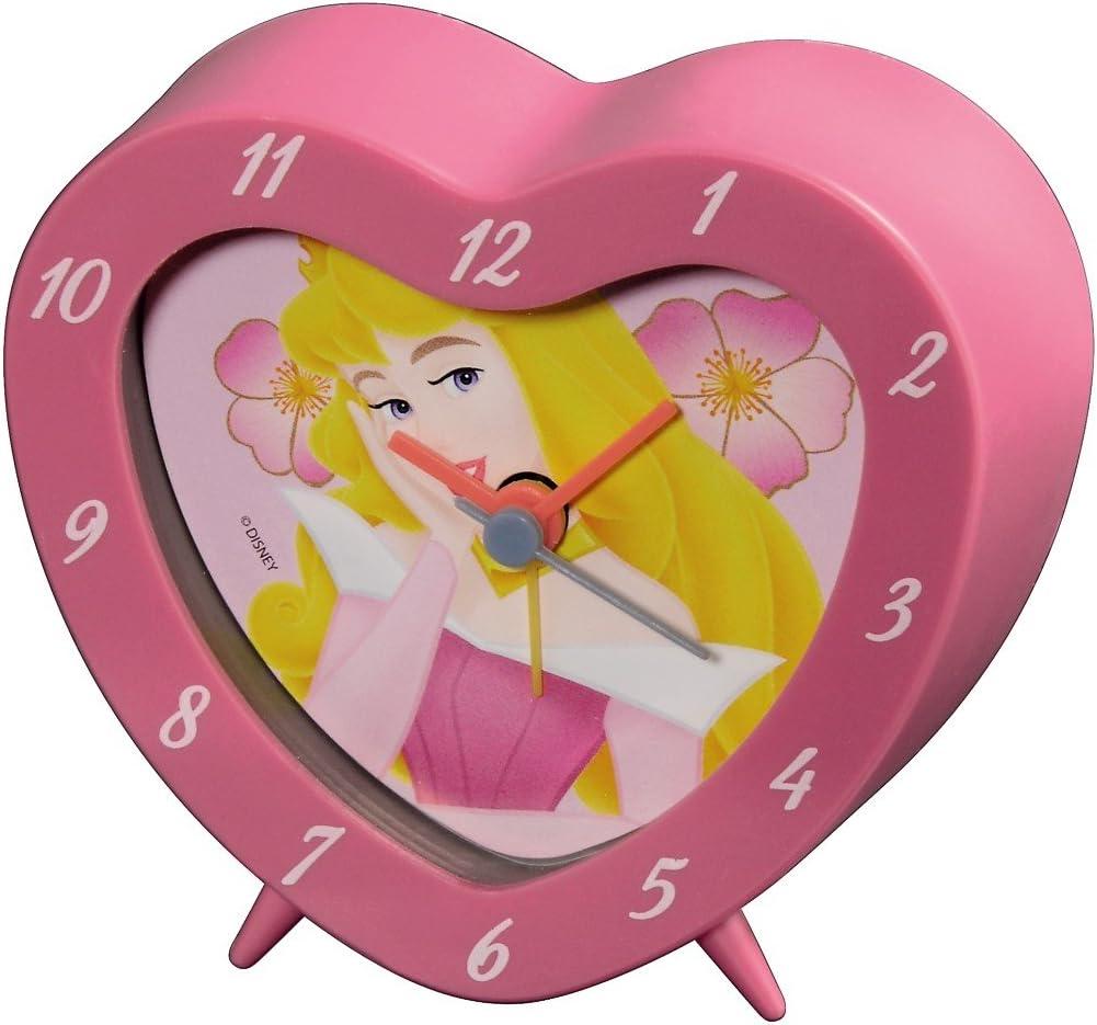 Hama - Reloj Despertador, diseño de Princesa Disney, Color Rosa ...