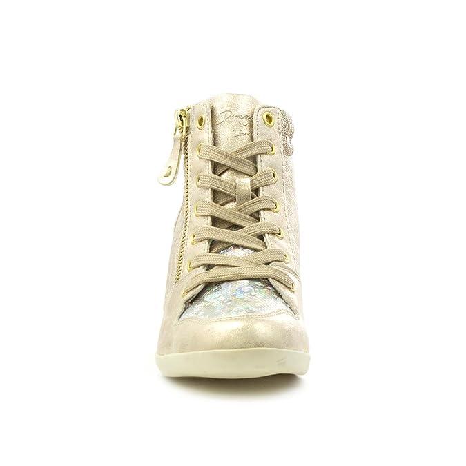 Sprox Goldkeil-beiläufiger Schuh mit Spitzeen für Frauen durch Größe 42 - Mehrfarbig VD51w9T7