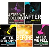The Complete After Series Collection 5 Books Box Set by Anna Todd (After Ever Happy, After, After We Collided, After We Fell,