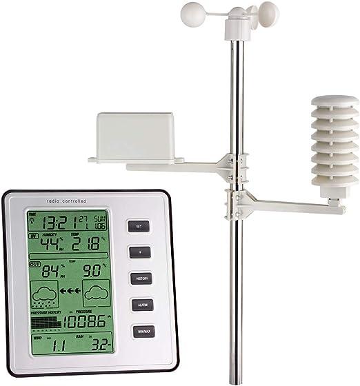 TFA 35.1077 - Estación meteorológica Digital Completa con sensores remotos: Amazon.es: Jardín
