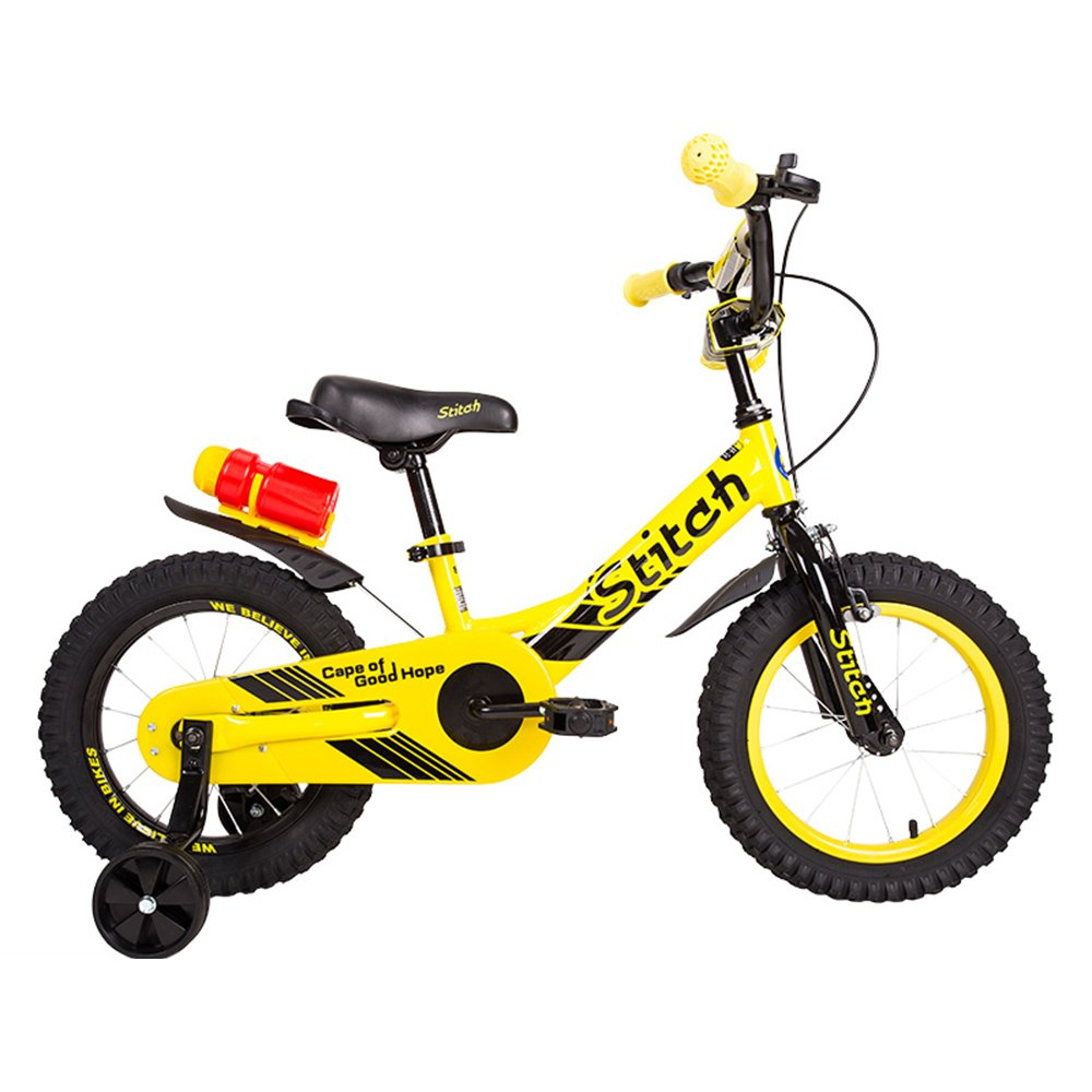 HAIZHEN マウンテンバイク 子供用自転車 トレーニングホイール付きの少年の自転車と少女の自転車 12インチ、14インチ アウトドアアウト 新生児 B07C6T91R5 12 inch