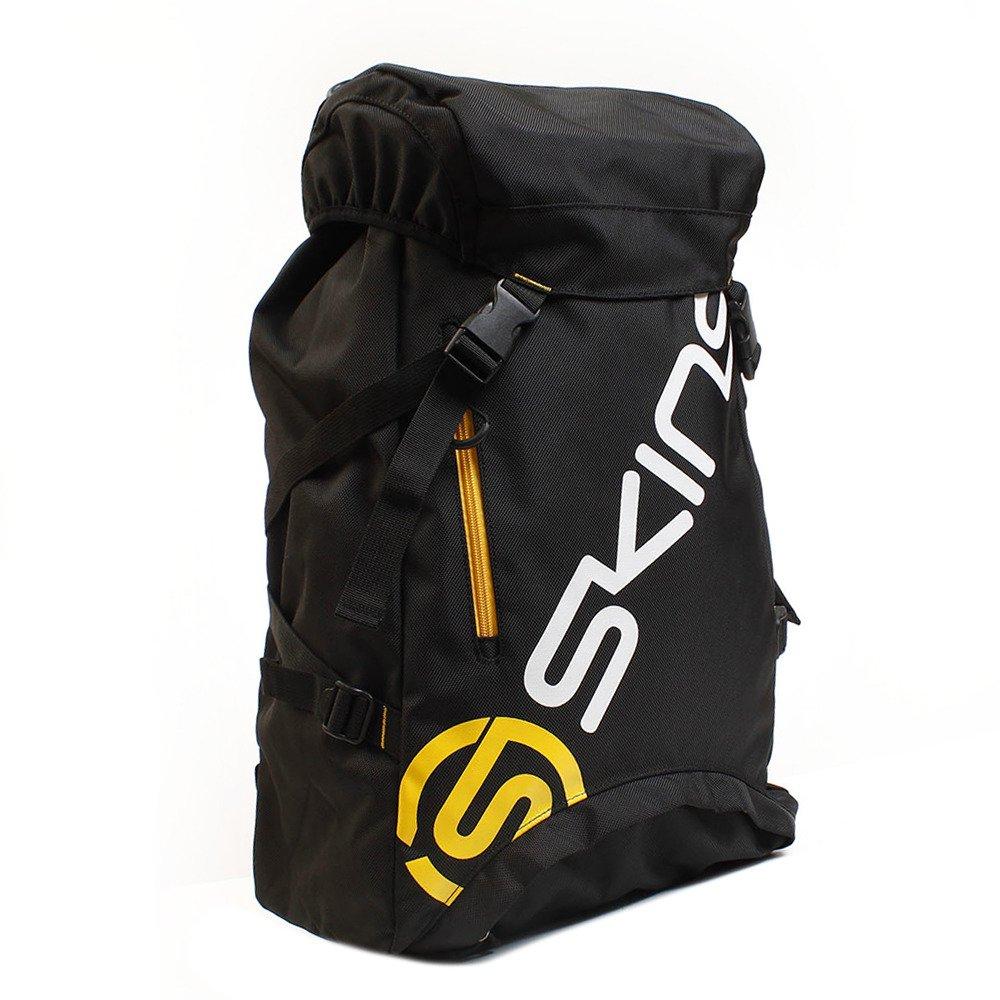 スキンズ(skins) カバーバックパック KMALJA20 B075KFXJ1H F|ブラック×イエロー ブラック×イエロー F