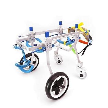 Silla de ruedas para mascotas, silla para perros, carro para perros, 2 kg