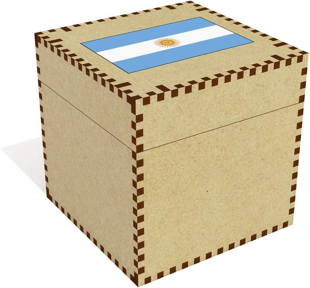 Azeeda Grande Bandera Argentina Joyería Caja (JB00056256): Amazon.es: Juguetes y juegos