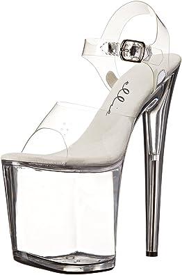Platform Stripper Shoes Womens