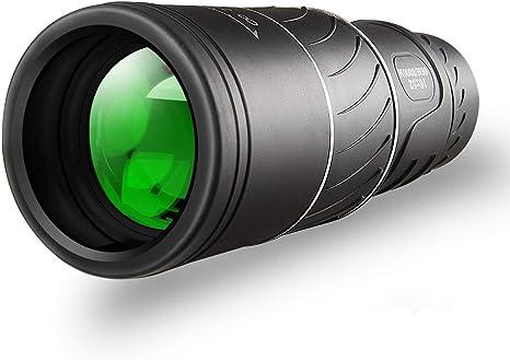 Gafild 12x42 MONOCULARES TELESCOPIO HD de alta potencia compacto Monocular alcance BAK4