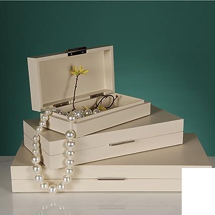 casa de la caja de joyería simple chino Dormitorio cabecera almacenamiento caja adornos modelo de caja