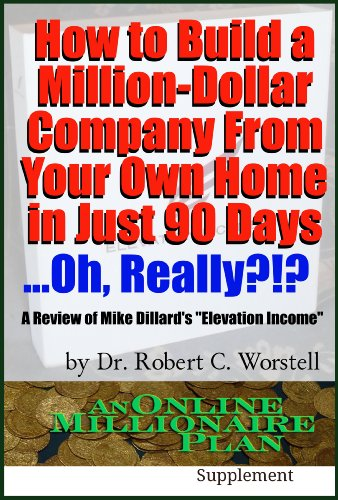 Amazon how to build a million dollar company from your own home how to build a million dollar company from your own home in just 90 days fandeluxe Images