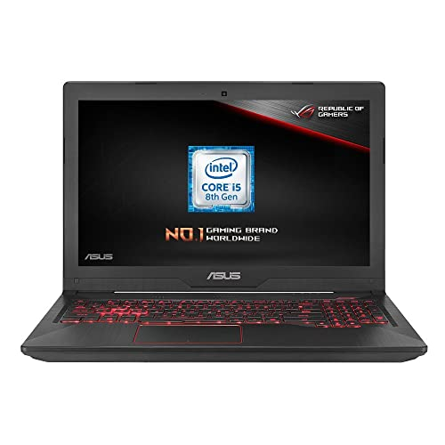 ASUS FX504 15.6-inch Full HD Gaming Laptop (Black) - (Intel i5-8300H Processor, 8 GB RAM, 1 TB HDD, Dedicated Nvidia GTX 1050 2 GB, Windows 10)