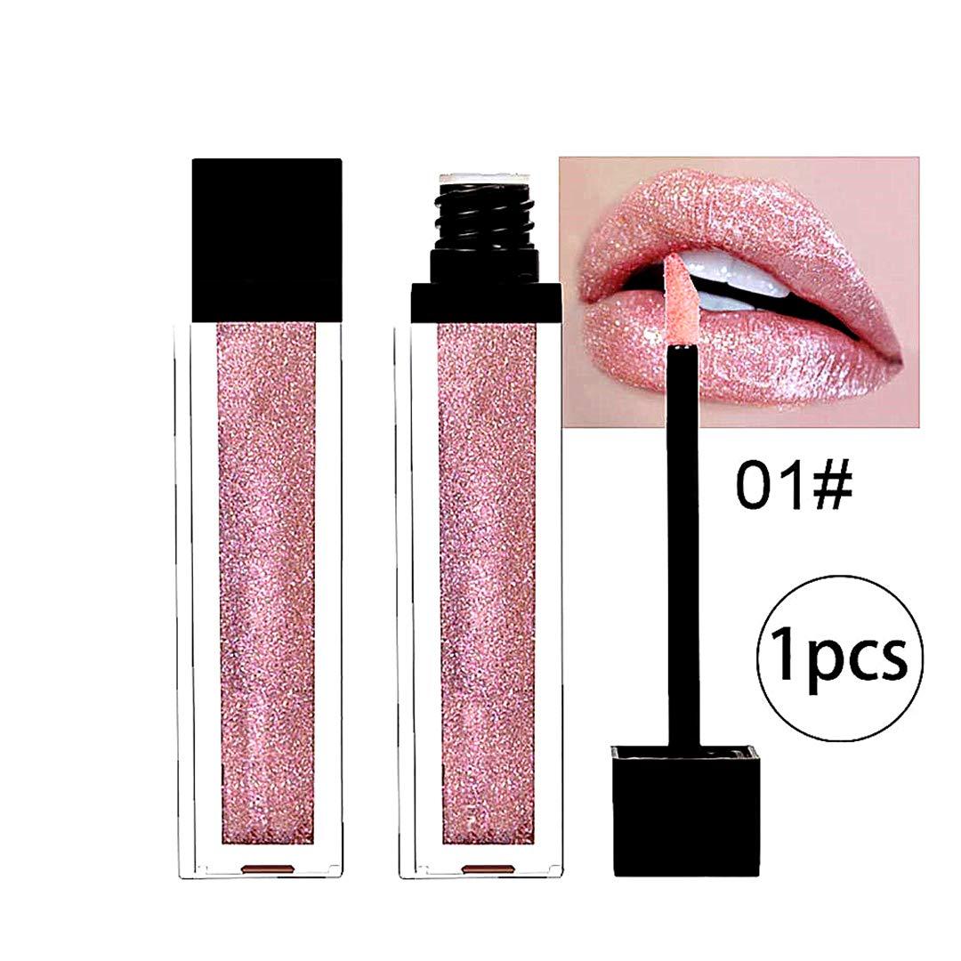100% Natural Moisturizing Lip Gloss - 1 Schlauch mit Stab-Applikator(Gold) Snner