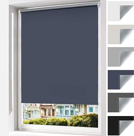 Verdunkelungsrollo Thermorollo Klemmrollo Doppelrollo Fensterrollo für Türen