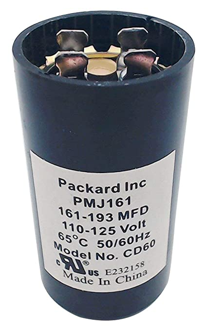 packard pmj161 110 125v start capacitor 161 193 mfd limited Motor Start Capacitors Distributor packard pmj161 110 125v start capacitor 161 193 mfd limited edition