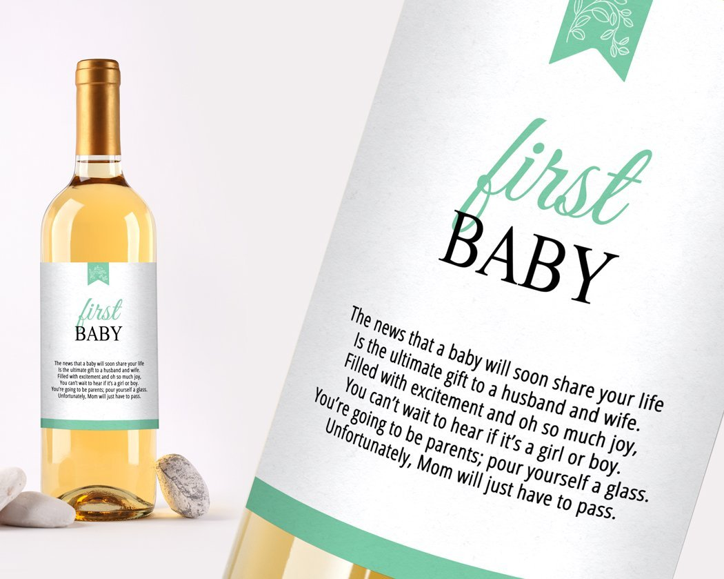 Amazon.com | Wine Bottle Labels for Wedding Gift, Wedding Milestones ...